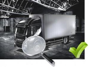Contrôle technique camion ivéco