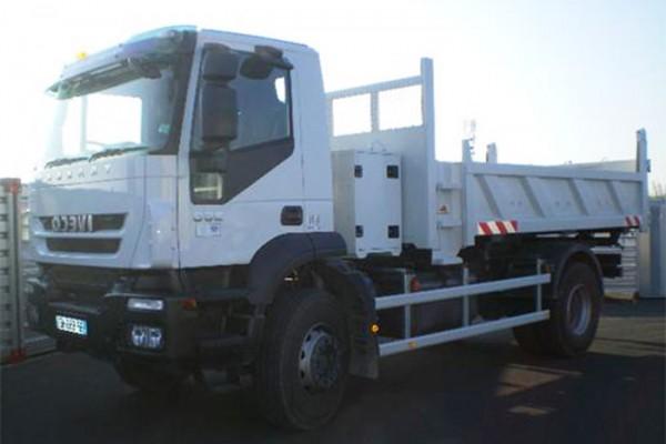 location-vehicule-poids-lourd-camion-bi-benne-19T - niort saintes la rochelle bordeaux fontenay le comte